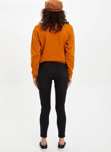 DeFacto Super Skinny Fit Jean Pantolon Siyah